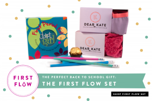 The First Flow Set from Dot Girl and Dear Kate