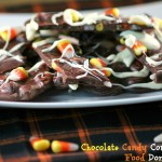 Dark Chocolate Candy Corn Bark